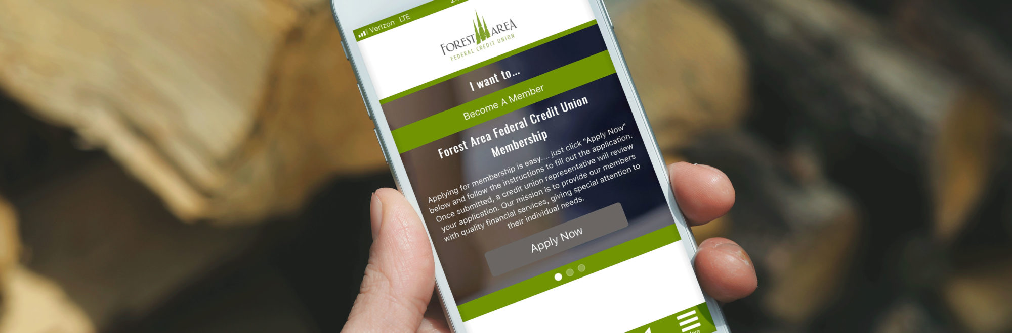 Mobile Banking | Forest Area Federal Credit Union