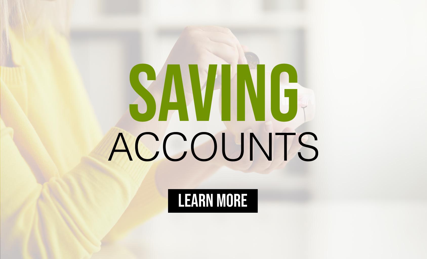 Saving Accounts - Lake City, MI