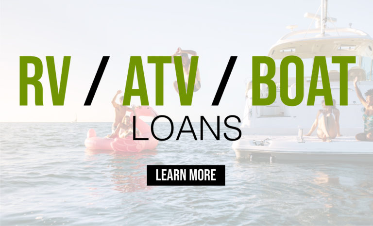 RV/ATV/Boat Loans - Lake City, MI