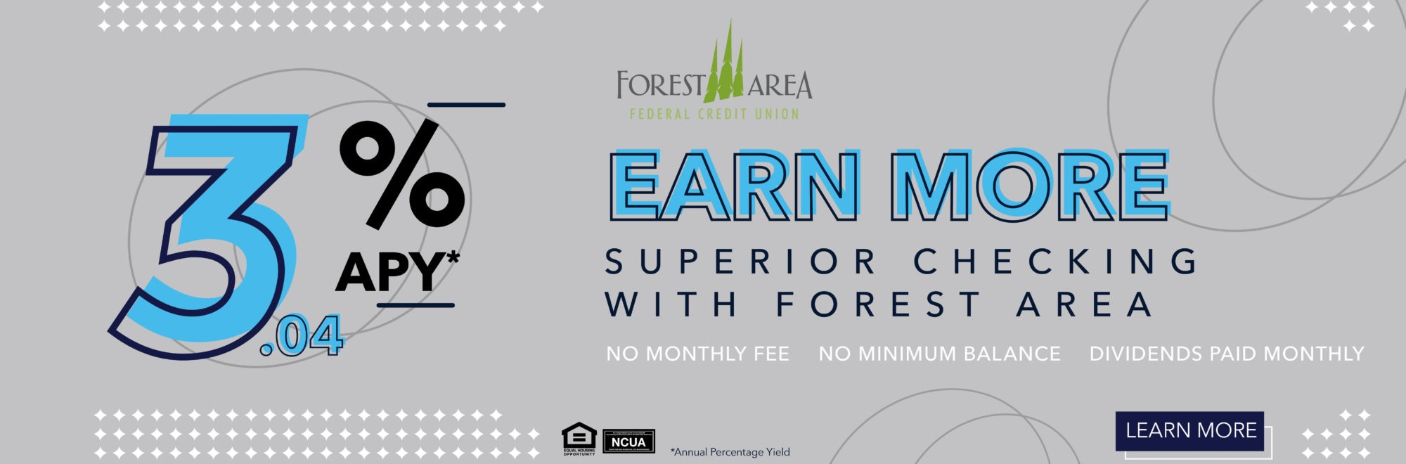 Learn more about how you can earn up to 3.04% on your first $15,000 with Superior Checking