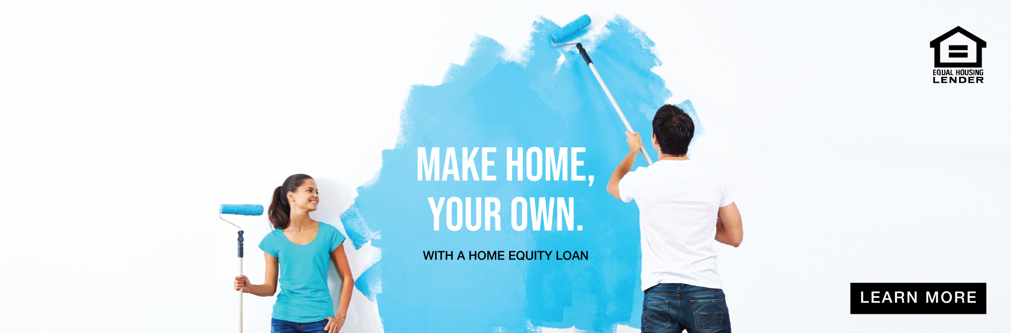 Make home your own with a home equity loan