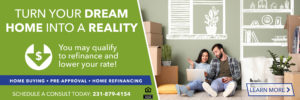 Turn your dream home into a reality by scheduling a consult today at 231-879-4154 to discuss home buying and refinancing.