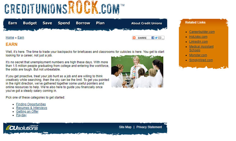 Credit Unions Rock