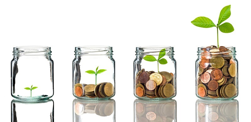 Growing Savings in Jars