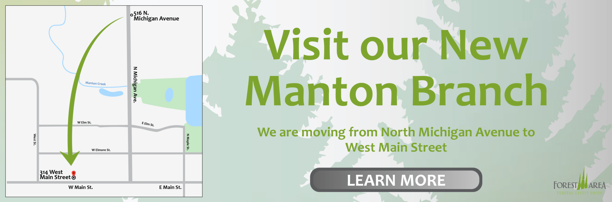 Visit Our New Manton Location