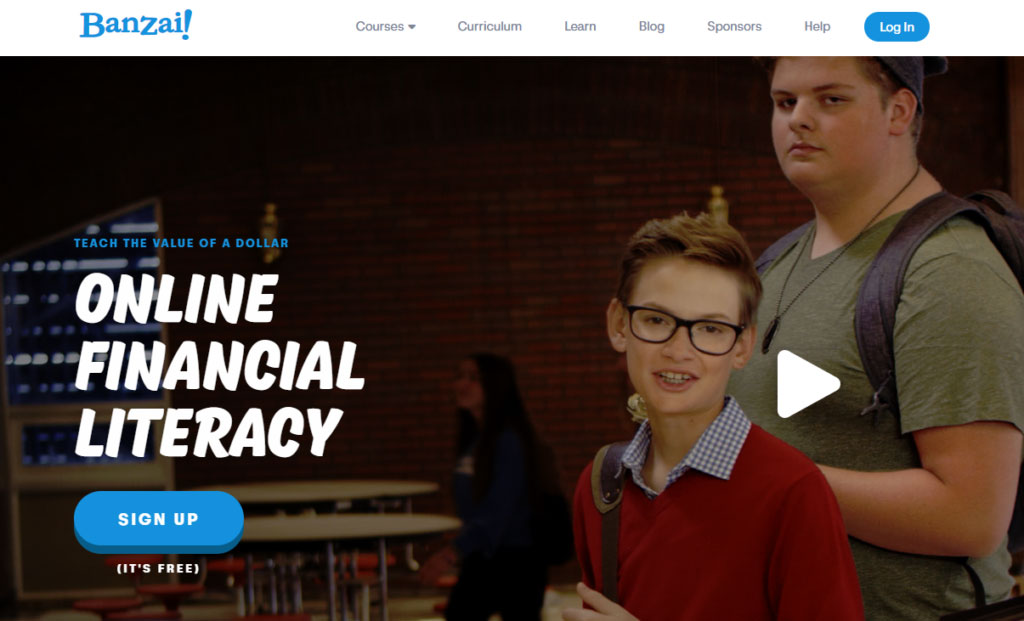 Learn financial literacy online with Banzai. It's free!