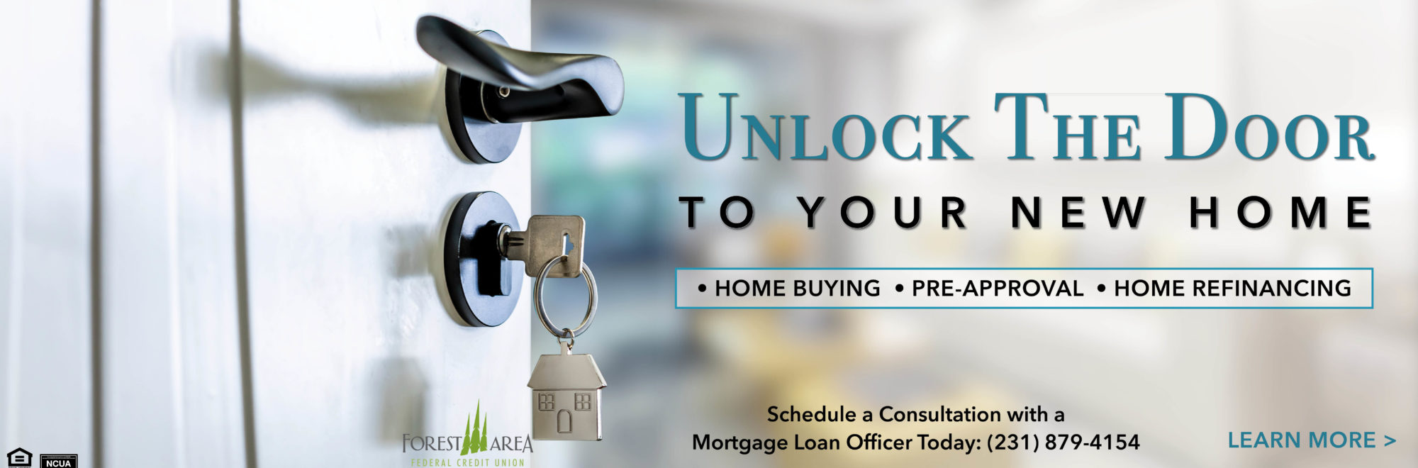 Take advantage of the lowest rates in decades. Schedule a consultation with a loan officer today at 231-879-4154